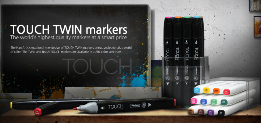 ShinHan Touch Twin Markers