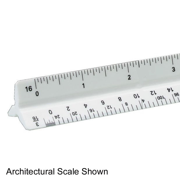Triangular Architectural Scales