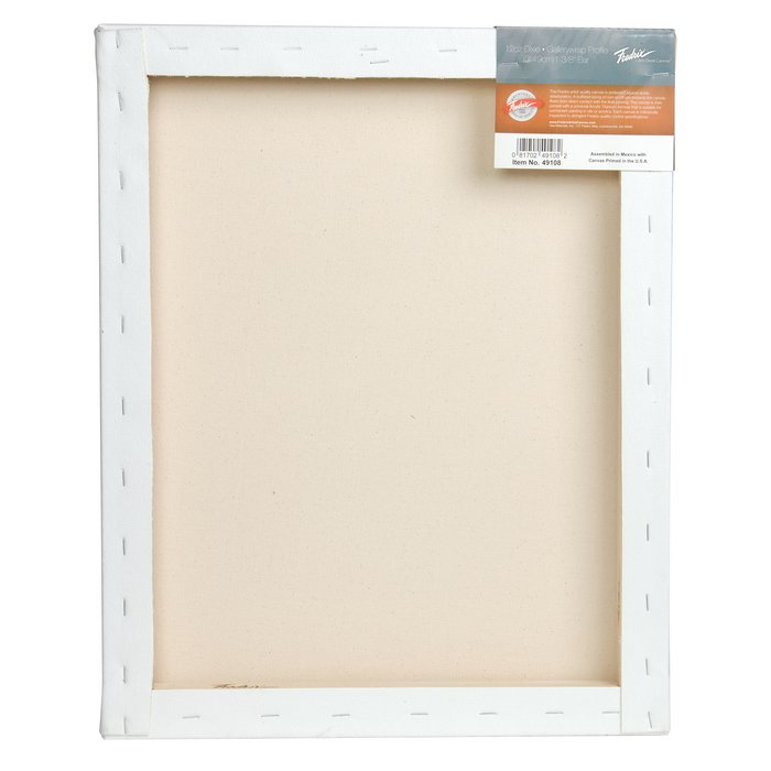 Fredrix PRO Series Dixie Stretched Canvas with Gallerywrap Bar