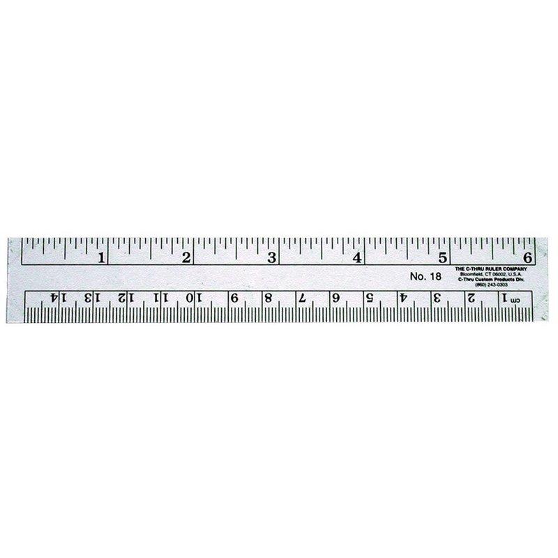 C-THRU Plastic Rulers