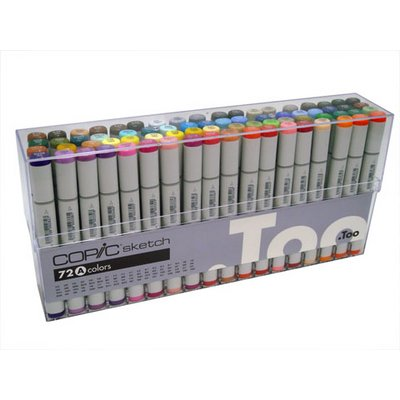 72 Sketch Marker Set A
