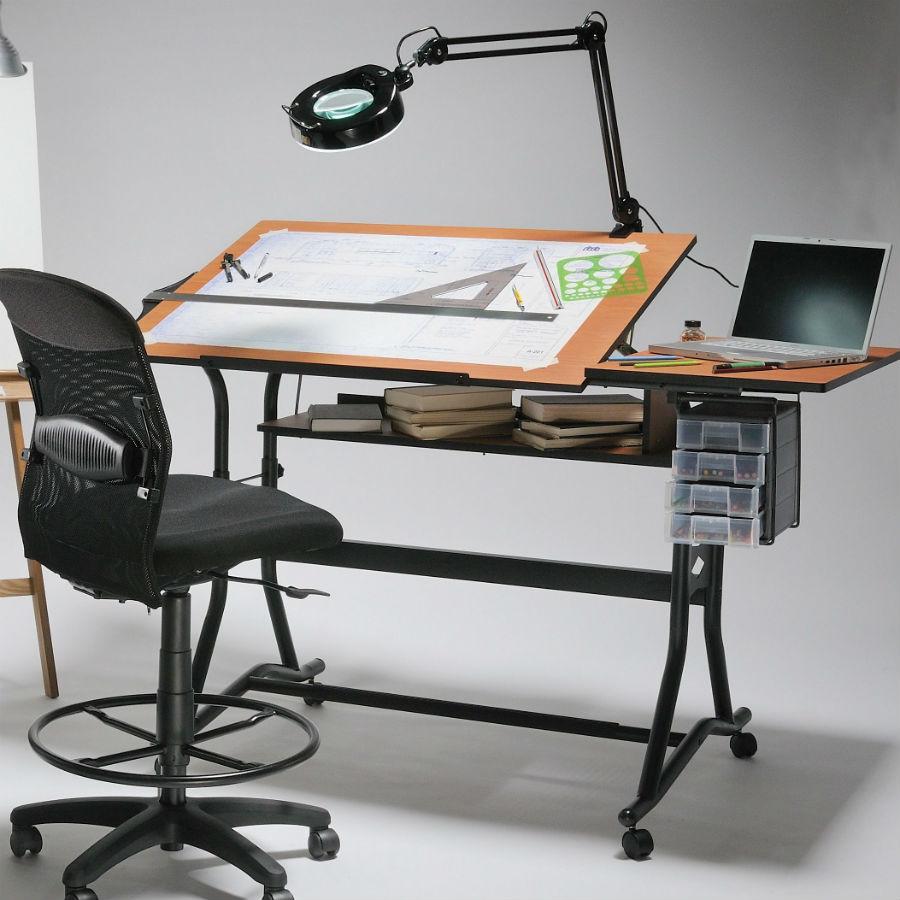 Alvin Craftmaster Ii Split Top Drafting Drawing Art