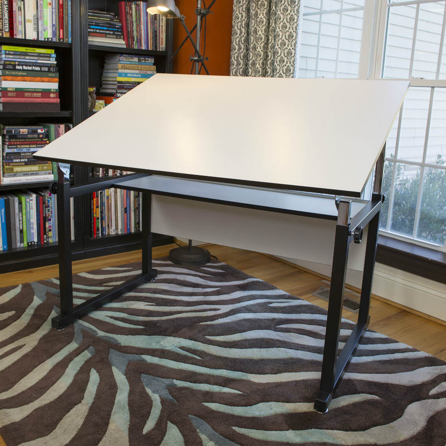 Alvin 37 5 Quot X 60 Quot Workmaster Drafting Table Black Or White