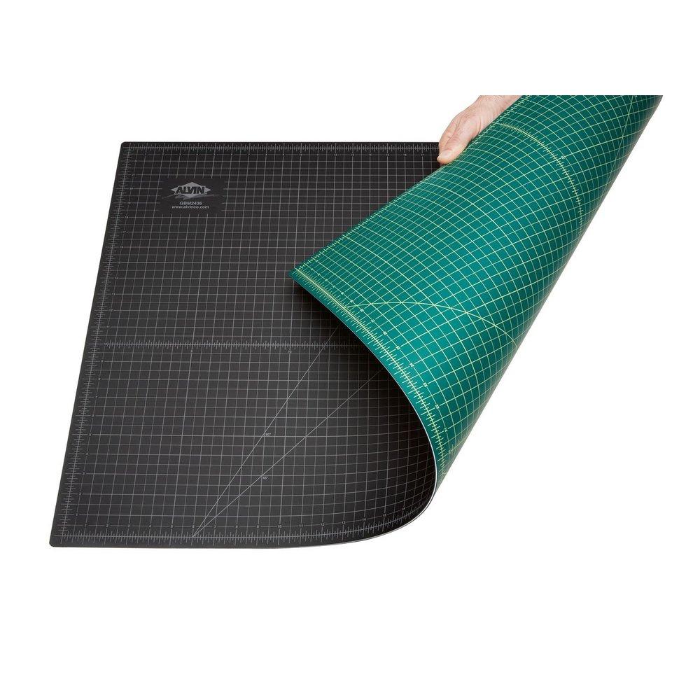 Alvin 36 Quot X 48 Quot Green Black Cutting Mat Gbm3648