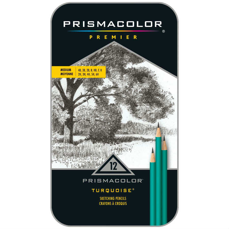 Medium Prismacolor Drawing Pencil Set Drafting Supplies, Drafting Pencils and Leads, Woodcase Drawing Pencils