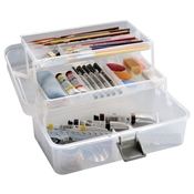 Mid-Size Art Tool Box Drafting Supplies, Portfolios and Cases, Art Supply Storage Bins