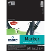 "C100511047 : Canson 9"" x 12"" Artist Series Pro Layout Marker Paper Pad"
