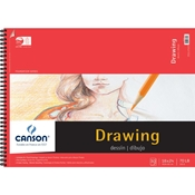 "C100510981 : Canson 18"" x 24"" Foundation Series Drawing Paper Pad"