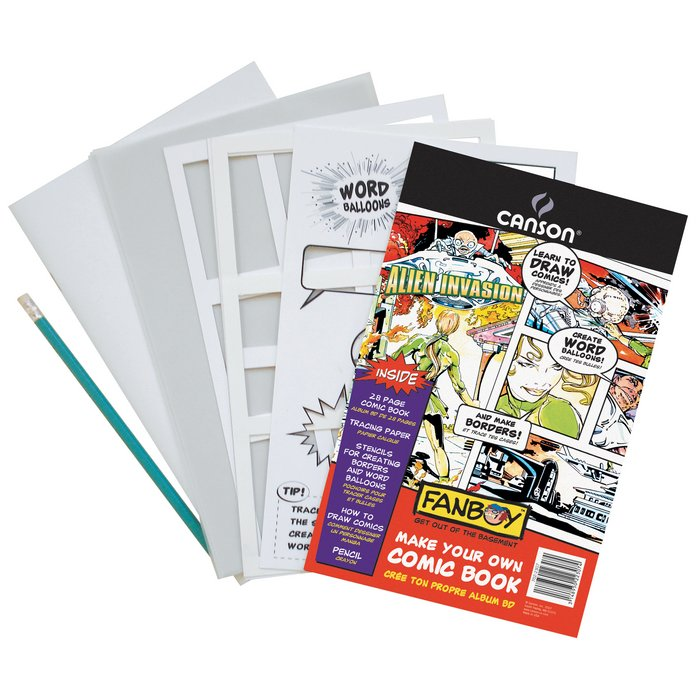 how to make your own comic book