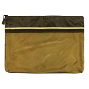 "12"" x 16"" Dual Zippered Pocket Fabric Mesh Bag Drafting Supplies, Portfolios and Cases, Utility Bags"