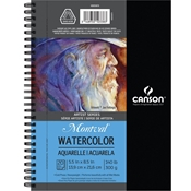 "5.5"" x 8.5"" Montval Watercolor Pad Drafting Paper and Drawing Media, Sketchbooks and Sketch Pads, 5-1/2"" x 8-1/2"" Montval Watercolor Pad"