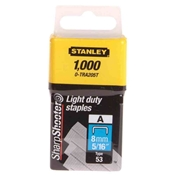 "5/16"" Light-Duty Tacker Staples - Box of 1000 Drafting Supplies, Office Supplies, Staplers"