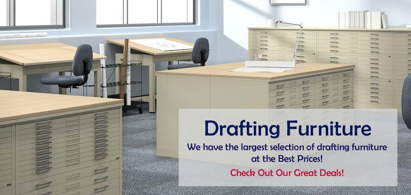 Drafting Furniture - Drafting Tables, Chairs, Blueprint Storage
