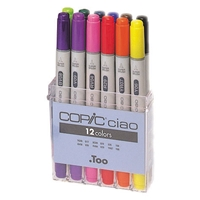 IB12 : Copic Ciao Markers - Basic Set of 12
