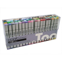 S72B : Copic 72 Sketch Markers Set B