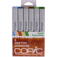 SEARTH : Copic Earth Essentles Sketch 6 Piece