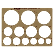 1201I : Pickett Giant Circles Template