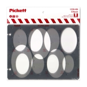 1228-40i : Pickett 40° Ellipse Template