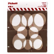 1228-60i : Pickett 60° Ellipse Template