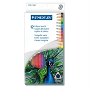 12-Set Triangular Colored Pencils