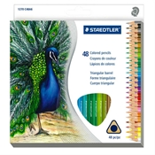 48-Set Triangular Colored Pencils