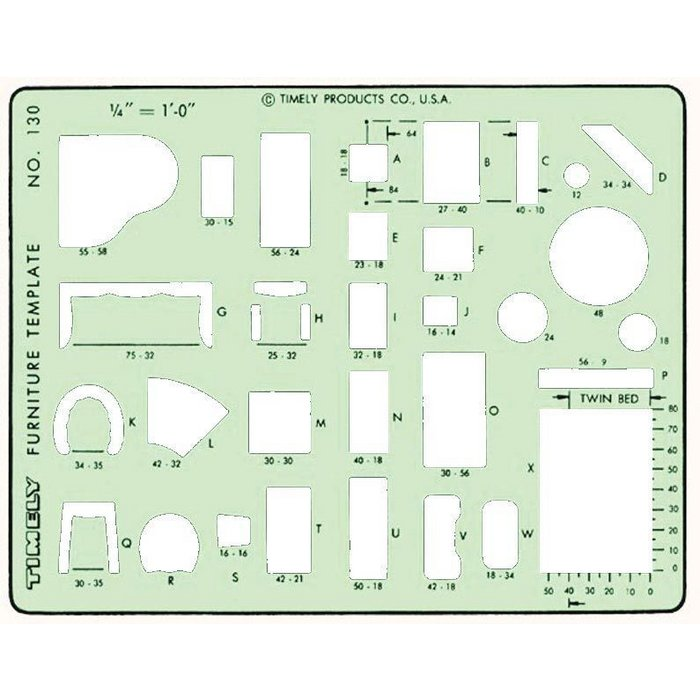 Timely Furniture Planner Template 130t
