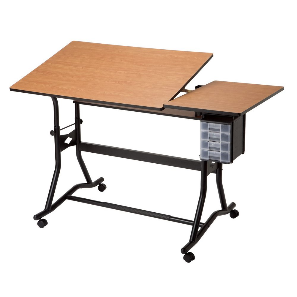 Drafting table dimensions - Cm60 3 Wbr Alvin Craftmaster Ii Split Top Drafting Drawing Art