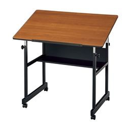 "MM36-3-WBR : Alvin 24"" x 36"" MiniMaster Table"