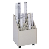 3082 : safco Mobile Roll Files/20 Tubes