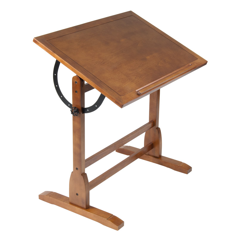 Studio Designs 36 Vintage Drafting Table Color Rustic Oak 13304