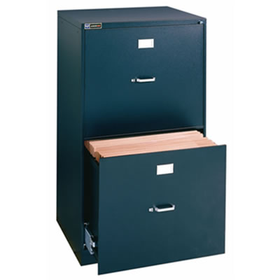 "18"" x 24"" Two Drawer File with Lock"