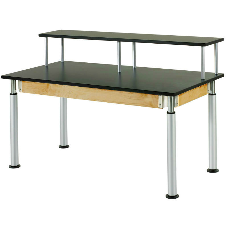 Adjustable-Height Riser Tables
