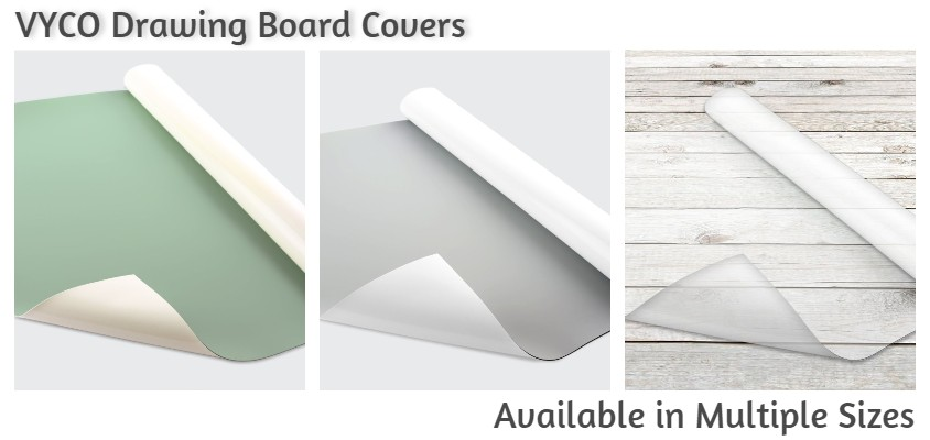 Vyco Drawing Board Covers