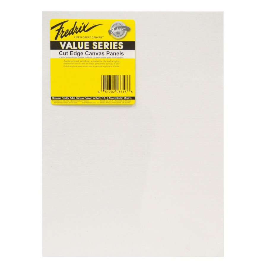 Fredrix Value Series Rectangular White Cut Edge Panels