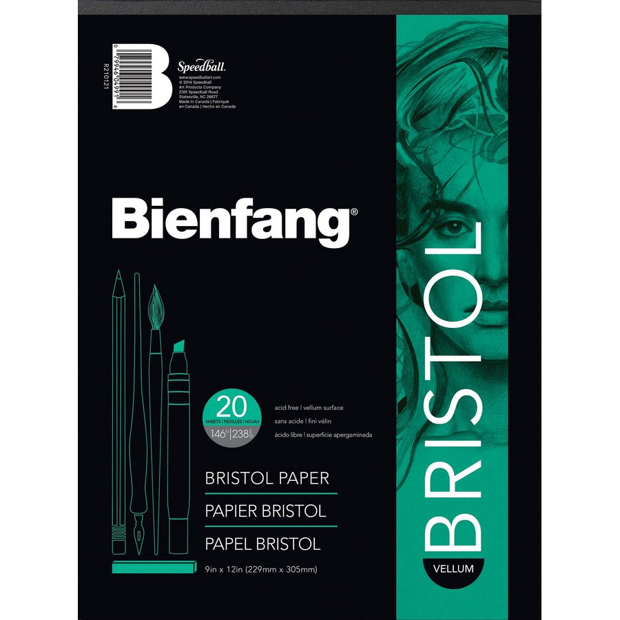 Bienfang White Drawing Bristol Board