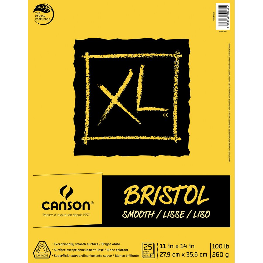 Canson XL Fold Over Bristol Pads