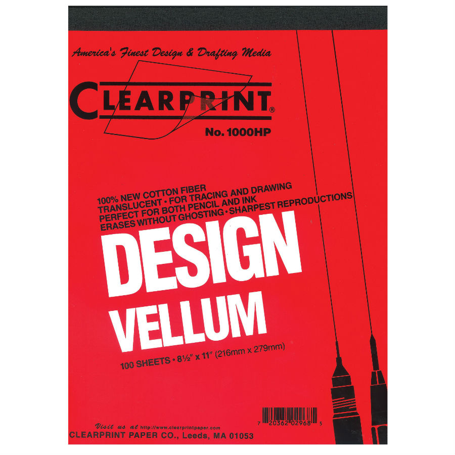 Clearprint 8x8 Grid Vellum Pads