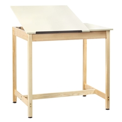 "30"" x 42"" Split-Top Drafting Table"