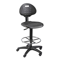 LabTek Utility Chair Drafting Furniture, Drafting Chairs and Stools, Industrial Seating, Seating, Industrial Chairs