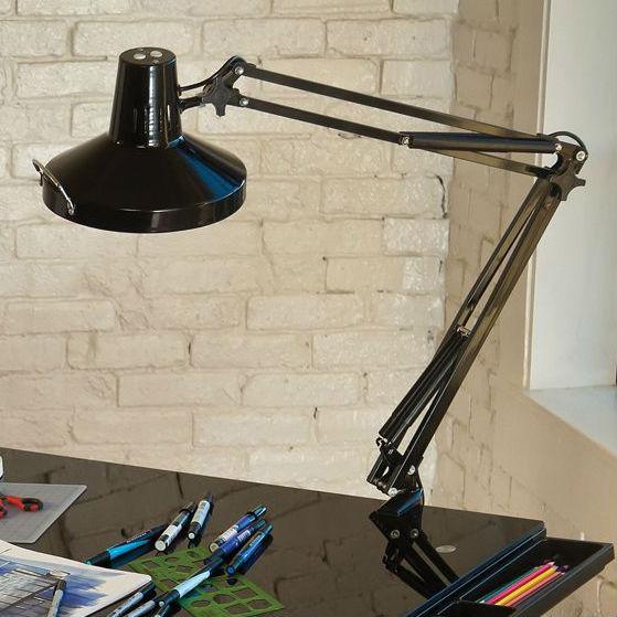 Swing Arm Combination Lamp Drafting Furniture, Drafting Lamps