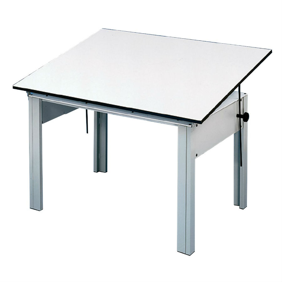 DM48CT : Alvin DesignMaster 4-Post Compact Drawing Table