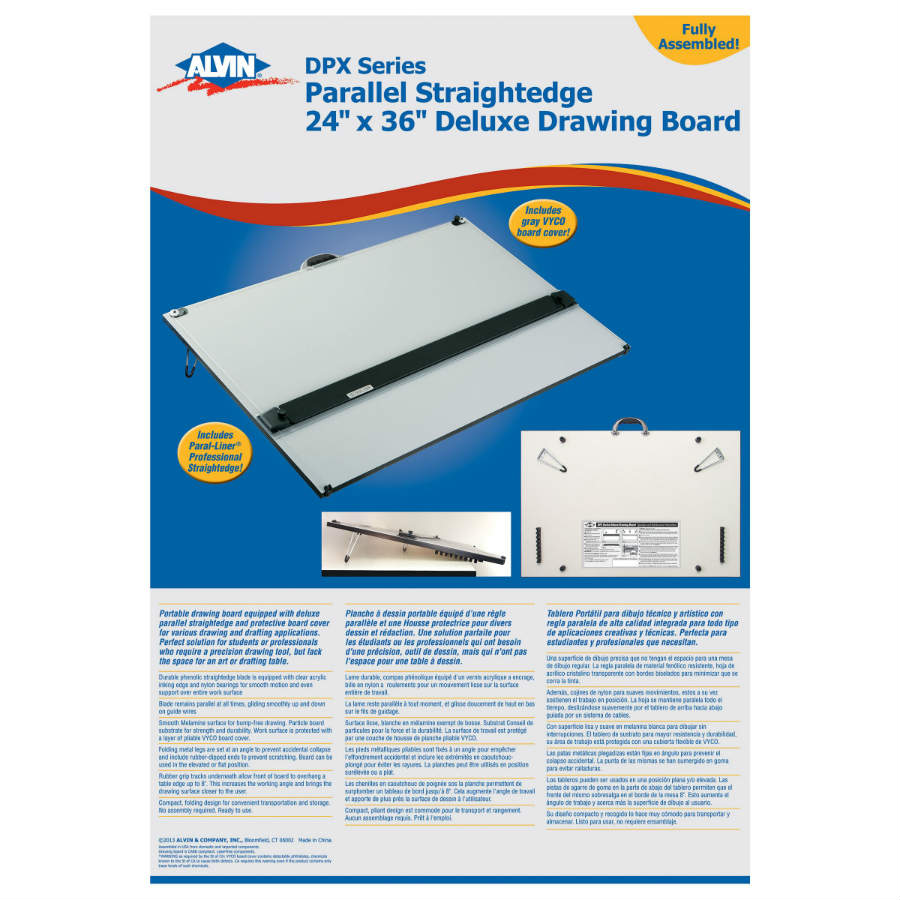 Alvin 30 Quot X 42 Quot Deluxe Drafting Board With Straightedge