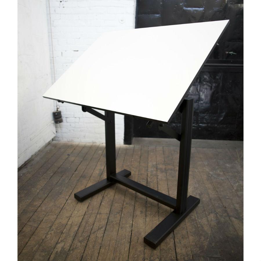 alvin 36 x 48 ensign drafting table base color white or black en48 rh draftingsuppliesdew com alvin drafting table portable alvin drafting table instructions