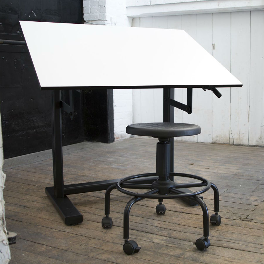 Alvin 31 Quot X 42 Quot Ensign Drafting Table Base Color White