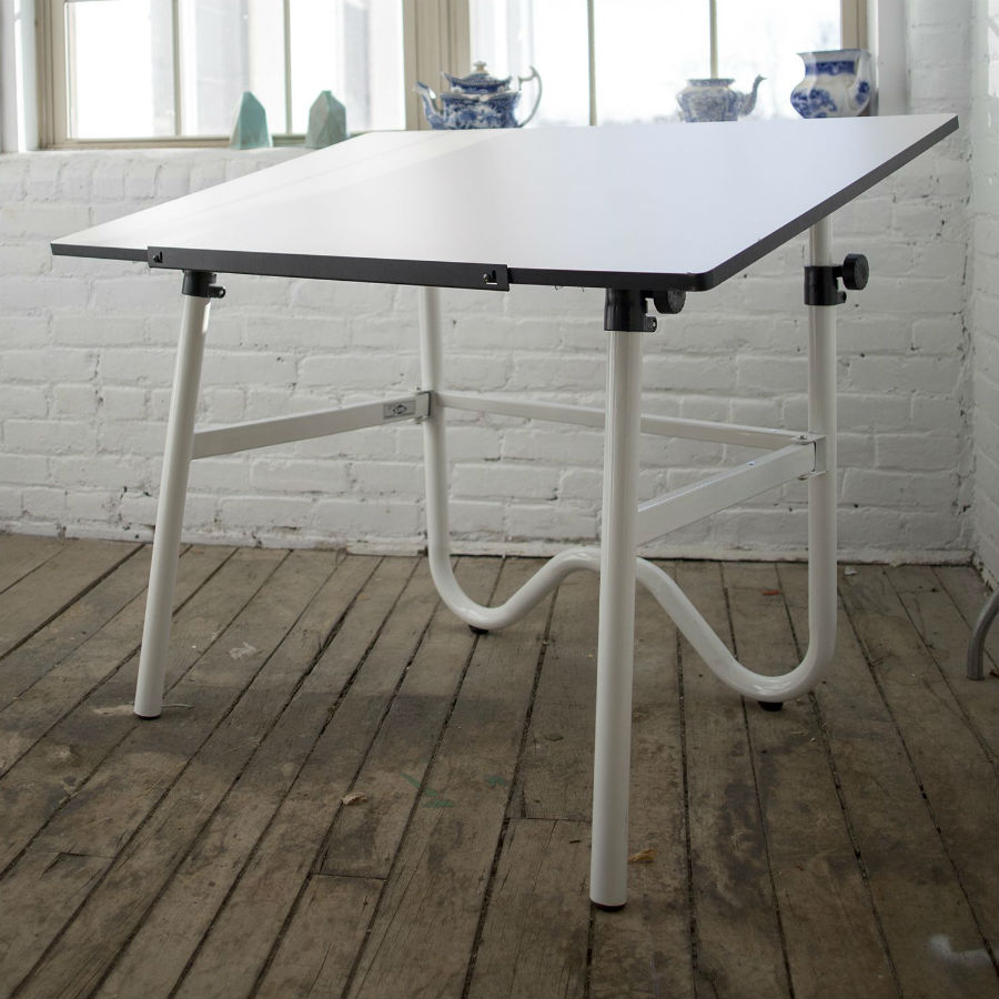 Alvin 30 Quot X 42 Quot Onyx Drafting Table Base Color Black Or