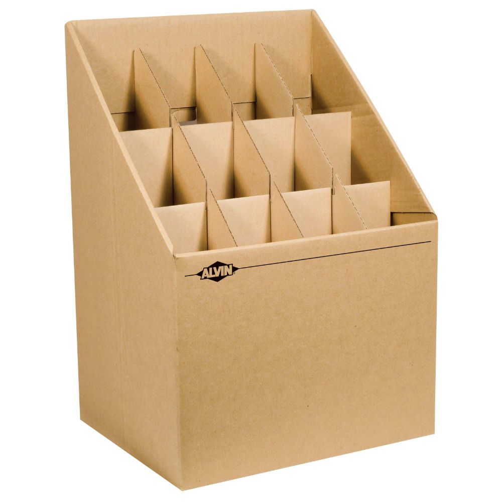 Upright Roll File Drafting Furniture, Blueprint Filing And Plan Storage,  Blueprint