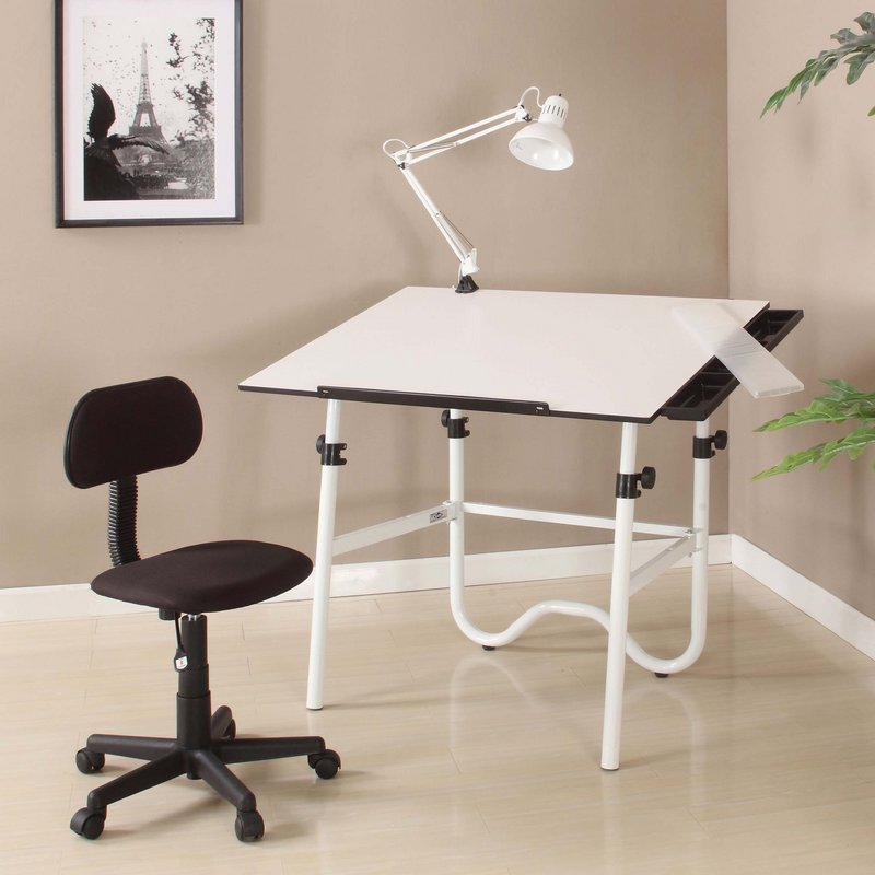 Alvin Cc2012 Creative Center Drafting Table Combo With