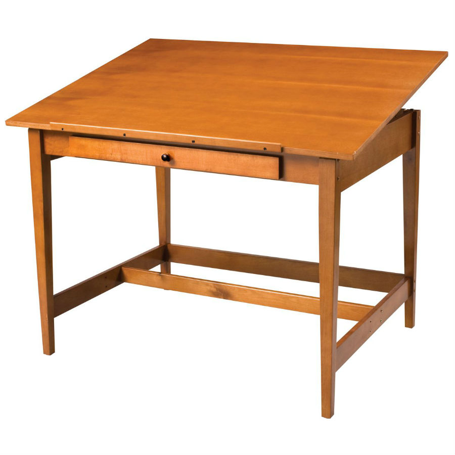 Alvin 28 x 42 vanguard wood drafting table van42 28 x 42 vanguard wood drafting table malvernweather Gallery