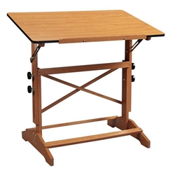 "30"" x 42"" Pavillion Art and Drawing Table Drafting Furniture, Drafting Tables and Drawing Boards, Wooden Drafting Tables, Alvin Pavillon Art and Drawing Table, drawing table"