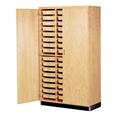 Tote Tray Storage Cabinet